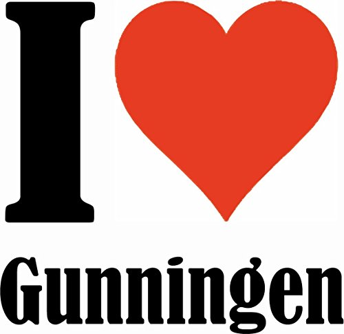 "Handyhülle iPhone 4 / 4S ""I Love Gunningen"" Hardcase Schutzhülle Handycover Smart Cover für Apple iPhone … in Weiß … Schlank und schön, das ist unser HardCase. Das Case wird mit einem Klick auf deinem"