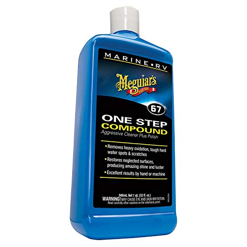Meguiar's M6732 Marine/RV One Step Compound, 32 oz (Best All In One Car Polish)