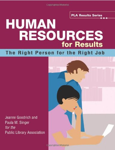 Human Resource for Results by Brand: ALA Editions