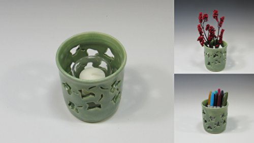 Votive Candle Holder (Pottery Pillar)