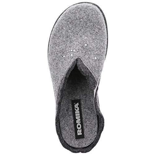 Romika Grau Pantofole Pantofole Donna Grau Romika Donna COtZzxqz