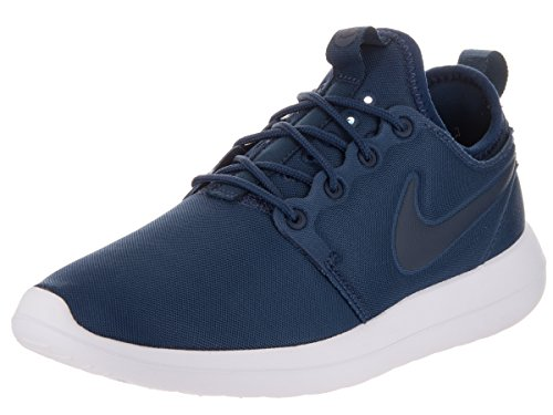 Nike Roshe Two, Zapatillas de deporte para mujer Azul (Midnight Navy / Midnight Navy)