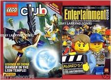 LEGO Club Magazine (November/December 2013) Legends ...