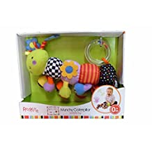 Red Kite Munchy Vibrating Caterpillar Activity Toy - Suitable From Birth
