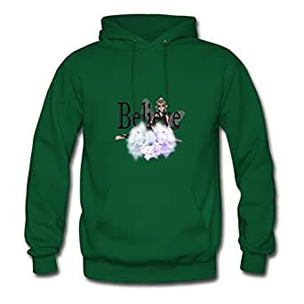 Women Customized Deepheather X-large Believe Fairy With Roses Print Green By Arturobuch