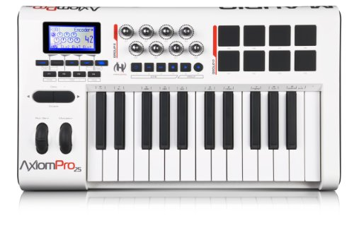 M-Audio Axiom Pro 25 Advanced 25-Key USB MIDI Controller wit