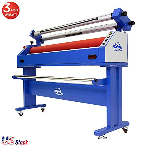 AC 110V 60Hz 63in Large Format Stand laminator Wide Format Cold Laminating and Mounting Machine - in US Stock