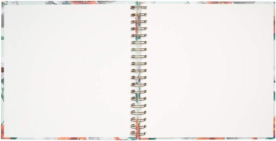 Grupo Erik Editores Erik /álbum de Fotos Scrapbook blummen 26 x 26 cm Celeste 40 p/áginas