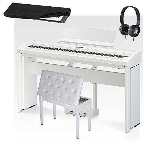 NEW Kawai ES-8 White, Cabinet Stand, Matching 3 Pedals, Whit