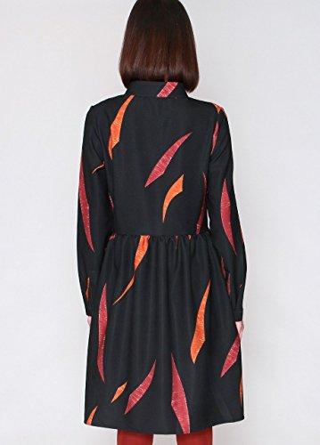 Pepa loves Nora, Vestido para Mujer Noir (Veleta)