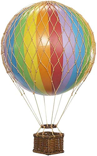 Authentic Models AP160D Floating The Skies, Blue Designed Hot Air Balloon