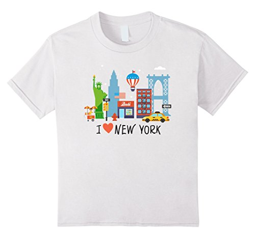 Kids I love New York Tourist Gift Souvenir Shirt 4 - Americas Of Avenue York New The