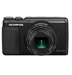 Olympus V107050U000 Stylus SH-50MR Digital Camera with 24x Optical Zoom and 3-Inch LCD