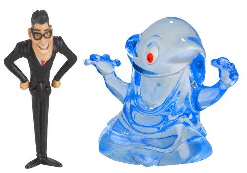 Monsters vs. Aliens Mini Figure 2-Pack President Hathaway and B.O.B. -