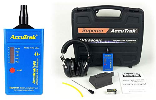 Superior AccuTrak VPE PRO Ultrasonic Leak Detector Professional Kit