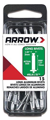 Arrow Fastener #RLA1/8 1/8x1/2 L Aluminum Rivet