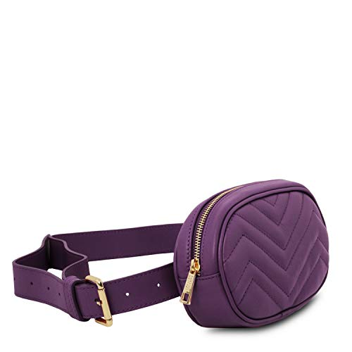 Pack Leather Tuscany Purple Soft Fanny Tlbag CRIdqIw