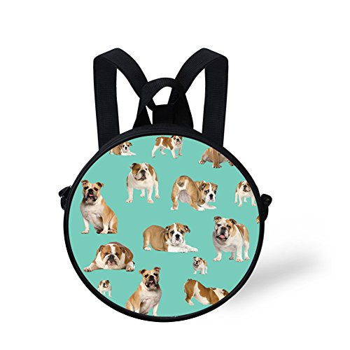 FancyPrint V6lcc3110i Cute Shoulder Handbag Print Bag Round Round Cute OaOr8