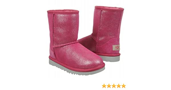 b08b05ad8a7 Amazon.com | UGG Unisex 1002496T Classic Glitter Toddlers Style ...