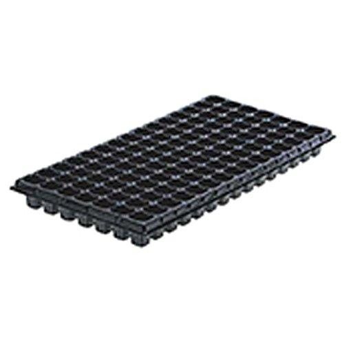 【500個】 54.0cm×28.0cm 黒 TOプラグトレー105(7×15列) 東海化成 タ種 代不 B06Y54GPCK