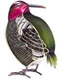 Deco Breeze Decorative Figurine Table Fan, Hummingbird, 11-Inch by 6-Inch