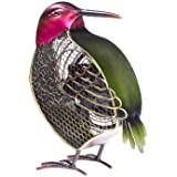 DecoBREEZE Hummingbird Figurine Fan Single-Speed Electric Circulating Fan