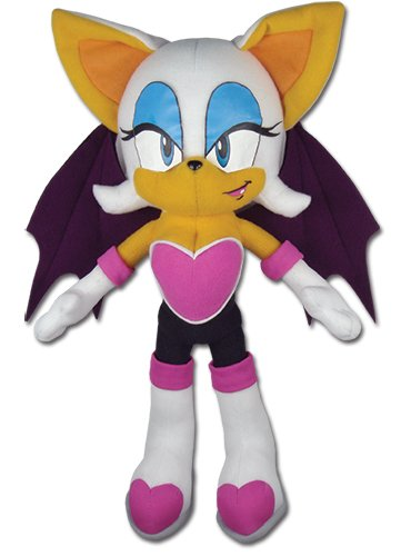 Great Eastern GE-7542 Sonic The Hedgehog Rouge The Bat 11'' Plush by Great Eastern