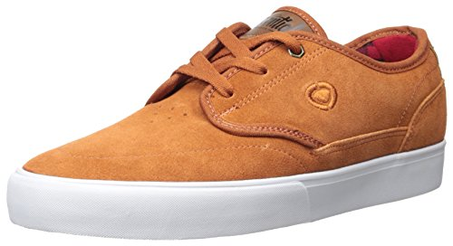 C1RCA Men's Essential Skateboarding Shoe, Rust/Bison, 12 M US