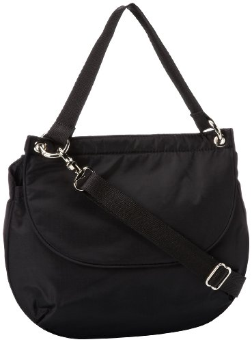 LeSportsac Penelope Cross Body,Black,One Size, Bags Central