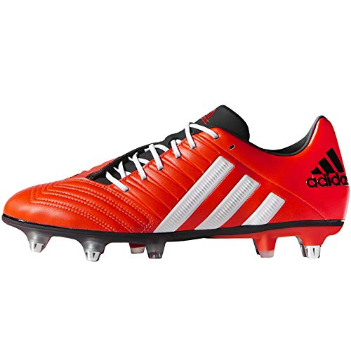 (adidas Performance Mens Predator Incurza XTRX SG Rugby Boots - Red - 13.5)