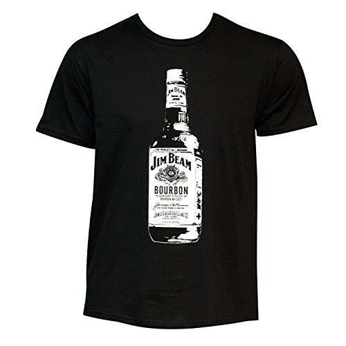 Jim Beam Men's Bottle Tee Shirt XL