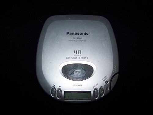 Panasonic SLS262 Portable CD Player (Panasonic Switch Cover)