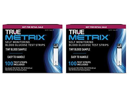 TRUE METRIX® Blood Glucose Test Strips NFRS 100ct - 2 Pack (200 Test Strips)