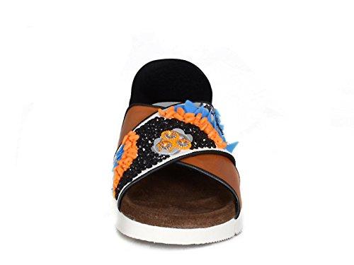 Zapatillas de MSGM mujer en varios colores cuero tela - Número de modelo: 2041MDS25 003 Multicolor