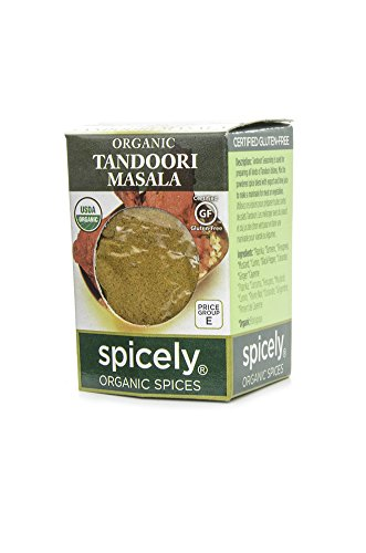 Spicely Organic Spices - Spicely Organic Seasoning, Tandoori Masala Salt Free - Compact