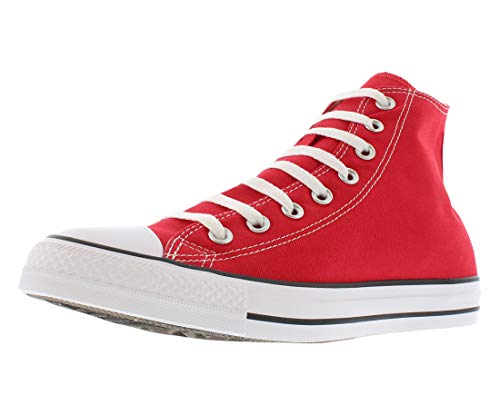 Converse Mens Chuck Taylor All Star High Top, 6.5 D(M) US, Red (Best Converse For Guys)