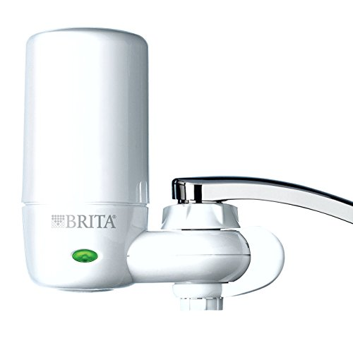 Filtering System (Brita On Tap Complete Water Faucet Filtration System with Light Indicator (Fits Standard Faucets Only) - White (Packaging May Vary))