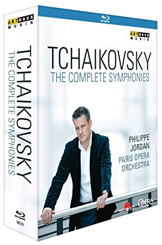 Tchaikovsky: The Complete Symphonies- Paris Opera Orchestra; Philippe Jordan (region 0 disc) [Blu-ray]