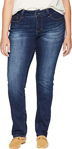 - Jag Jeans Women's Plus Size Kelso Straight Jean, Casper Wash, 16W