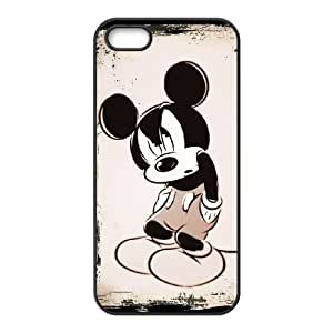 iPhone 5,5S Cell Phone Case Black Disney Mickey Mouse Minnie Mouse AFT845118