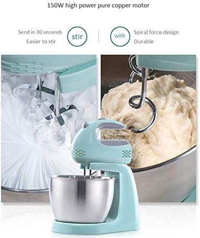 5ギア調整可能なステンレス鋼の電気卵ビーター、ハンドヘルド電気牛乳泡立て器、コーヒー、牛乳、卵、飲み物用の2つの泡立て器ハンドブレンダー