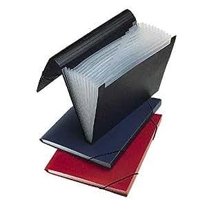Veloflex - Carpeta clasificadora (A4, 12 compartimentos), varios colores