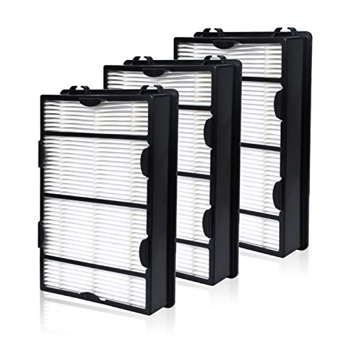 HAPF600 True HEPA Filter 3 Pack Replace for Holmes B Filter – Compatiable with HAPF600D HAP615 HAP625 HAP650 HAP675RC HAP725 HAP750 HAP1625 HAP1650 HAP1725 HAP1750 Air Purifiers