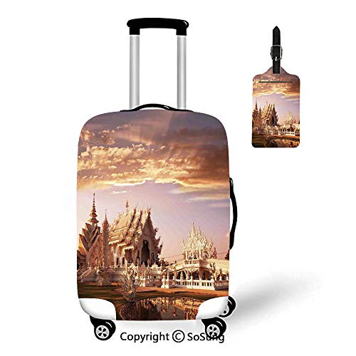 Home Decor 3D Printed Luggage Cover & Luggage Tag,Fit for 18-22