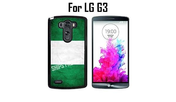 size 40 14c49 3f3b3 Amazon.com: Nigeria Custom Case/ Cover/Skin *NEW* Case for LG G3 ...