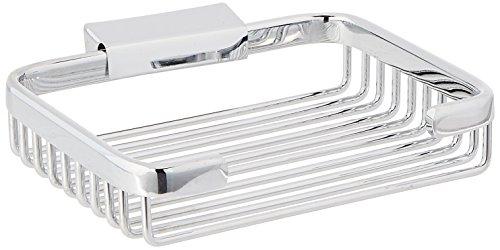 Deltana WBR6050U26rectangular de 15.2cm soporte para el jabón cesta de alambre
