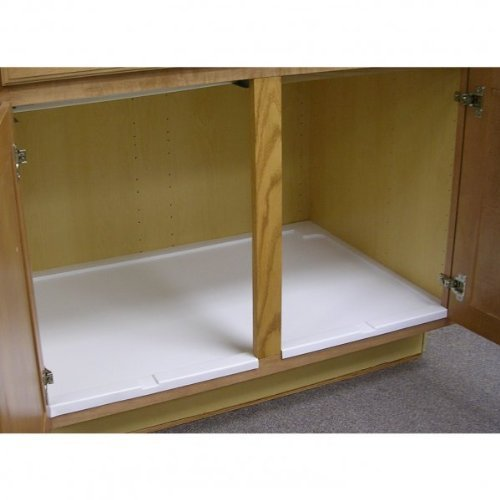 Vance Trimmable Under Sink Tray for 33 in. Base Cabinet, 4UST33W