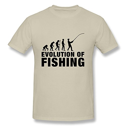 KEMING Men's Evolution Of Fishing 1 F1 T-shirt S
