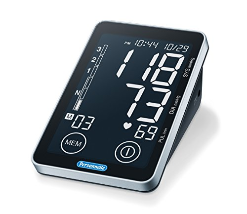 Personnelle Upper Arm Blood Pressure Monitor with Illuminate