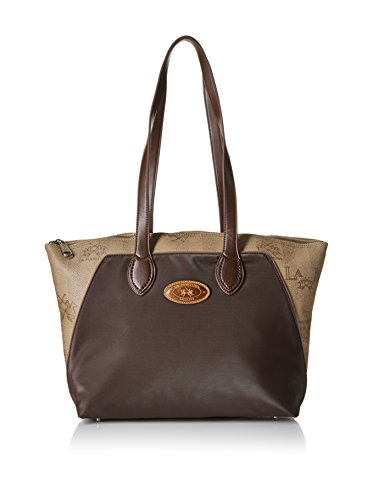 Borsa donna La Martina - Shopping Bag - Moro - L53PW2680052026